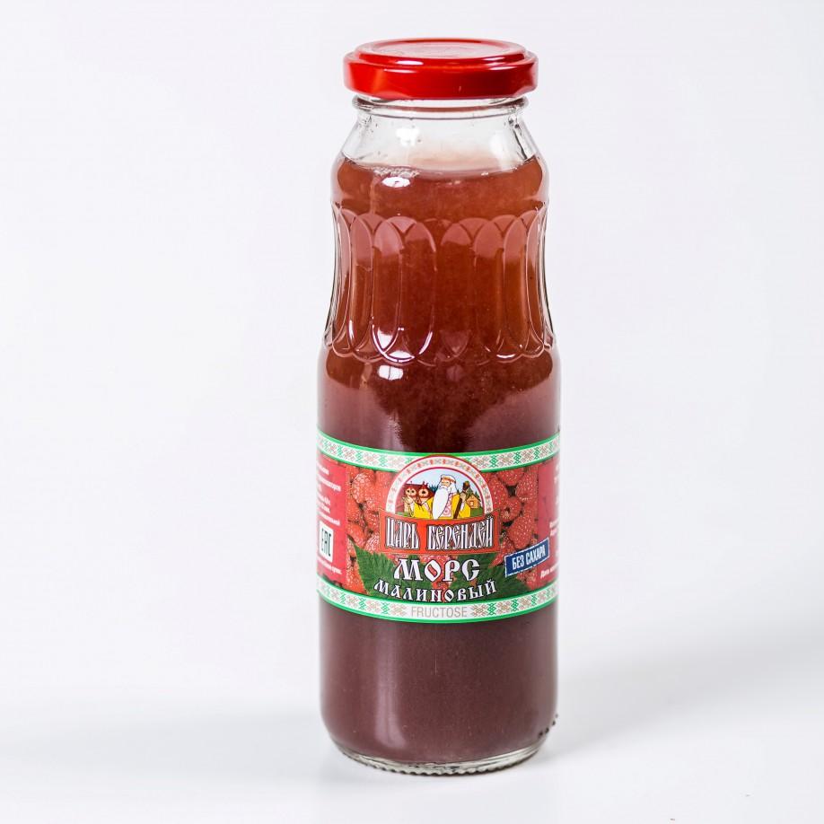 Морс малиновый с фруктозой 0,25 л
