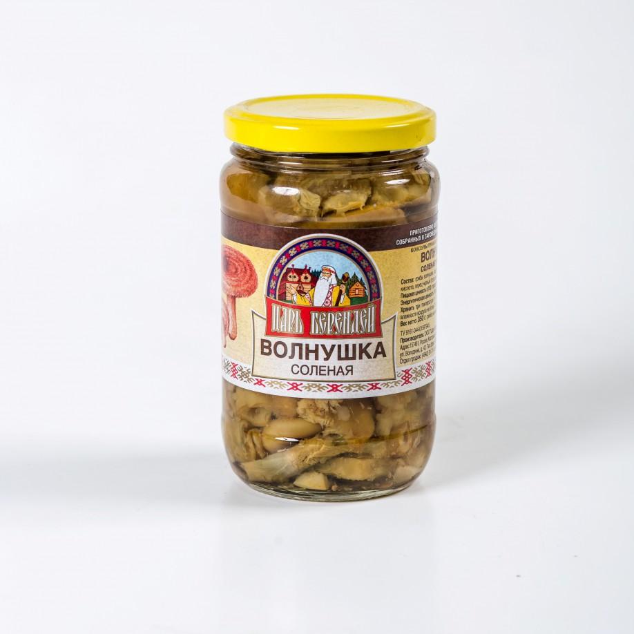 Грибы Волнушки соленые 350 гр.