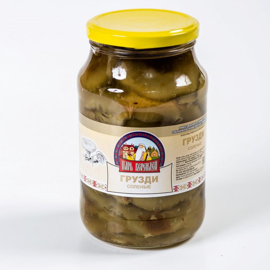 Грибы Грузди белые соленые 1 сорт 950 гр.