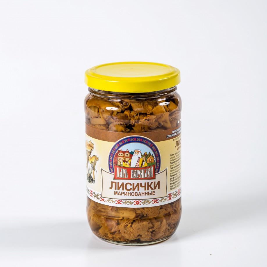 Грибы Лисички маринованные 350 гр.