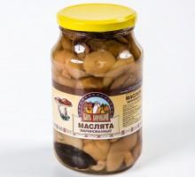 Грибы Маслята маринованные 950 гр.