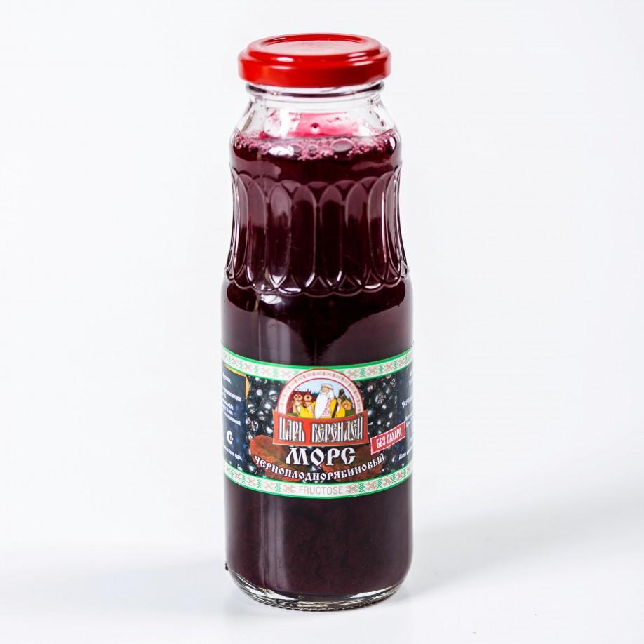Морс черноплоднорябиновый с фруктозой 0,25 л