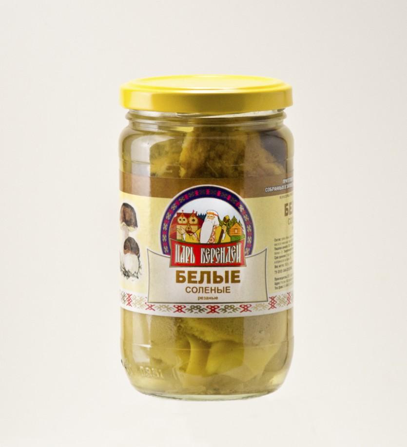 Грибы Белые соленые 350 гр.